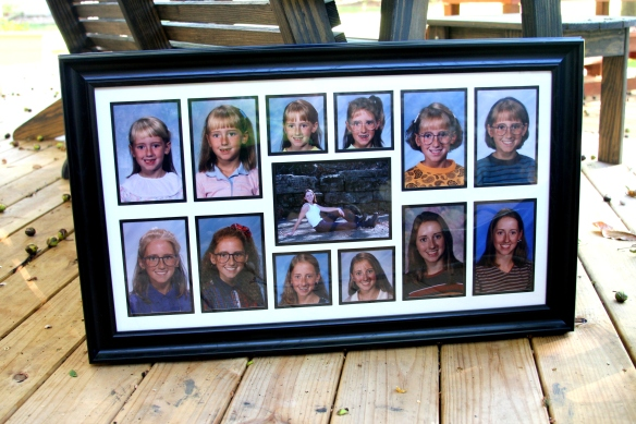 My sister-in-law found a frame with 13 openings for K-12 that she purchased for all 4 people in her family.