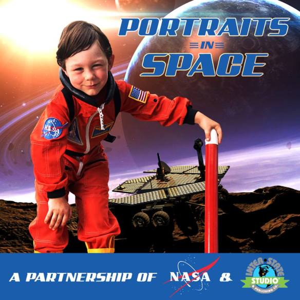 Portraits in Space- April Fools day
