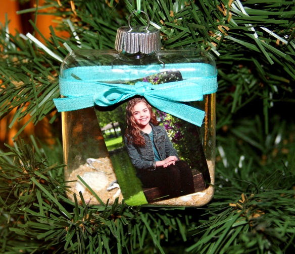Square Photo Ornament