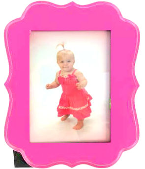 Pink Baby Shower Frame